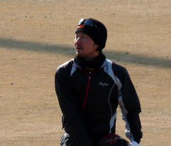 絵日記1・29鳴尾浜狩野2