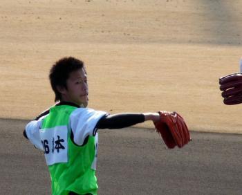絵日記1・31鳴尾浜新人5