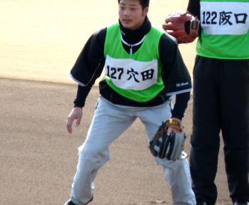 絵日記1・31鳴尾浜新人2