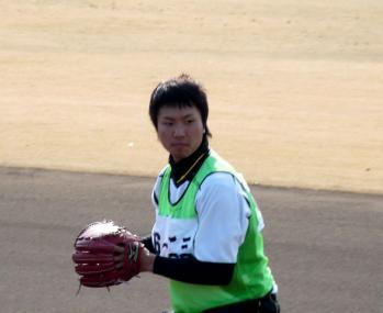 絵日記1・31鳴尾浜新人7