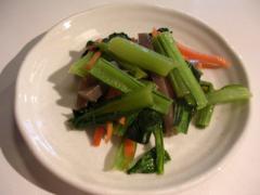 本日の惣菜 002