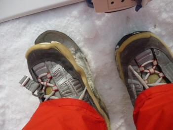 ブーツ破損