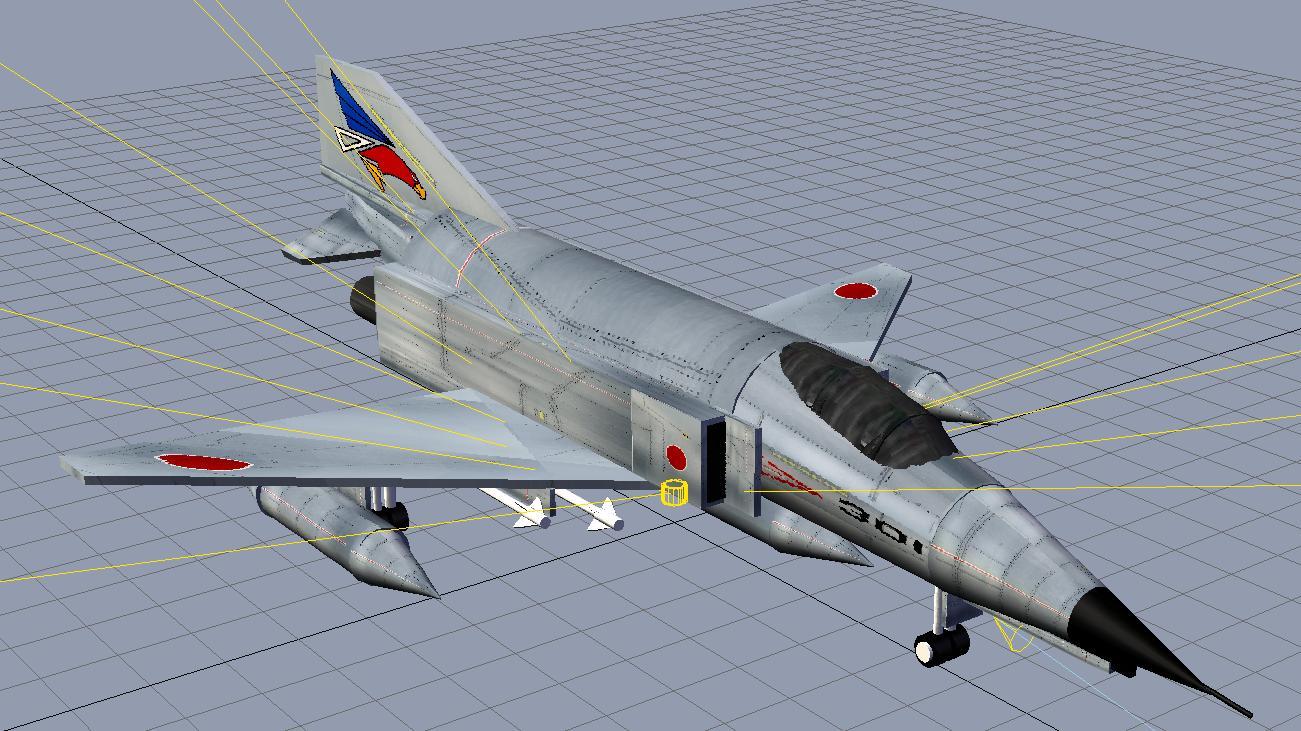 3D F-4 2