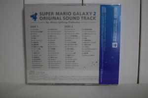 SUPER MARIO GALAXY2 ORIGINAL SOUND TRACK 裏