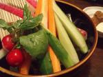 京野菜のスティック
