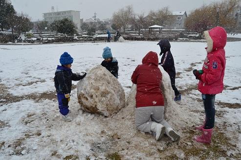 110211豊田 雪だるま