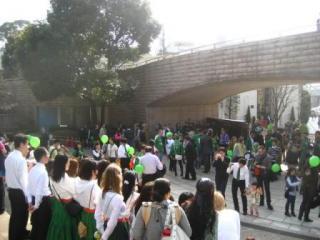 パレード集合