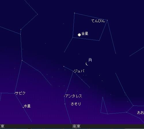 2011 1 1 初日の出星図2