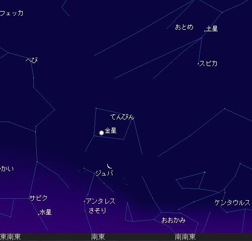 2011 1 1 初日の出星図1