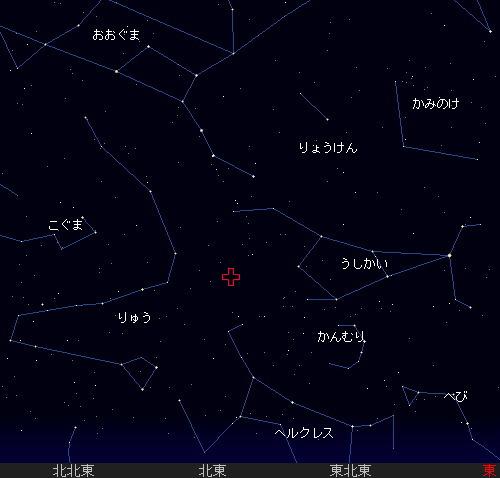 201201 4 しぶんぎ座流星群星図1