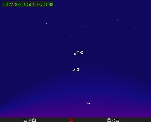 201203 26 夕空のランデブー星図24