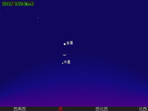 201203 26 夕空のランデブー星図26