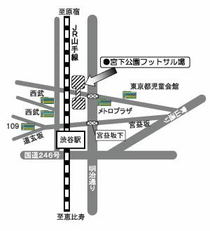 宮下公園MAP
