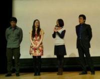 「花蓮」の舞台挨拶