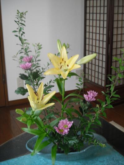 生け花0729