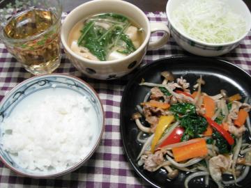 夕食1013