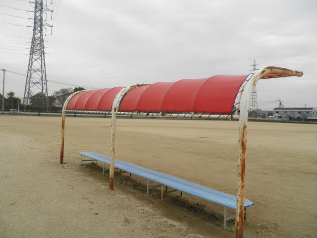 野球場テント 002
