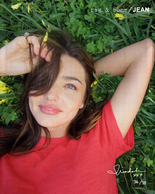 Miranda Kerr for Rag  Bones latest DIY campaign