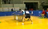 【卓球】 横山友一VS阿部淳一 全日本選手権2012