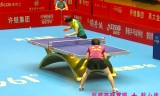 【卓球】 陳夢胡VS麗梅 中国超級リーグ2013