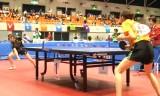 【卓球】 重本幸恵VS根本理世 東京国体2013