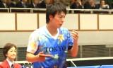 【卓球】 松平賢二VS町飛鳥(決勝) 東京国体2013