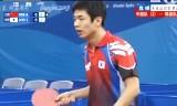 【卓球】 中国VS韓国(決勝2/2) 東アジア競技大会