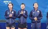 【卓球】 中国VS日本(女子決勝)東アジア競技大会