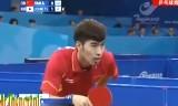 【卓球】 閻安VS鄭栄植 東アジア競技大会2013
