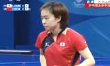 【卓球】 石川佳純VS陳夢 東アジア競技大会2013