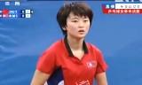 【卓球】 朱雨玲VSリミョンスン 東アジア競技大会2013
