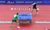 【卓球】 サムソノフVSイオニス(準決勝)ヨーロッパ選手権