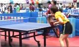 【卓球】 石川佳純VS根本理世4G 東京国体2013