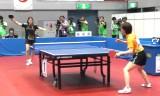 【卓球】 石川佳純VS根本理世2G 東京国体2013