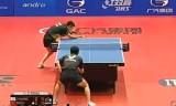 【卓球】 周雨VS荘智淵(準決)ポーランドオープン2013
