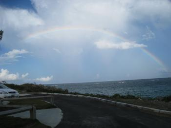 Rainbow in Bermuda