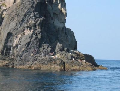 本島ロープ下