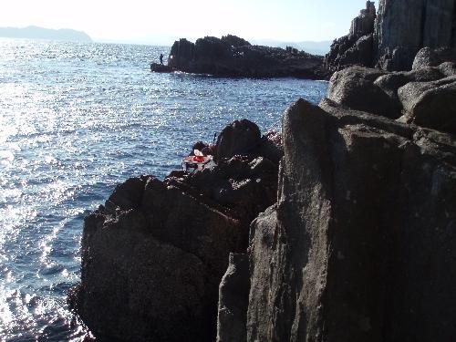 二子島 釣座