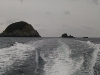 黄島 大美朗、中美朗、小美朗