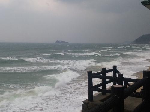 海岸大時化