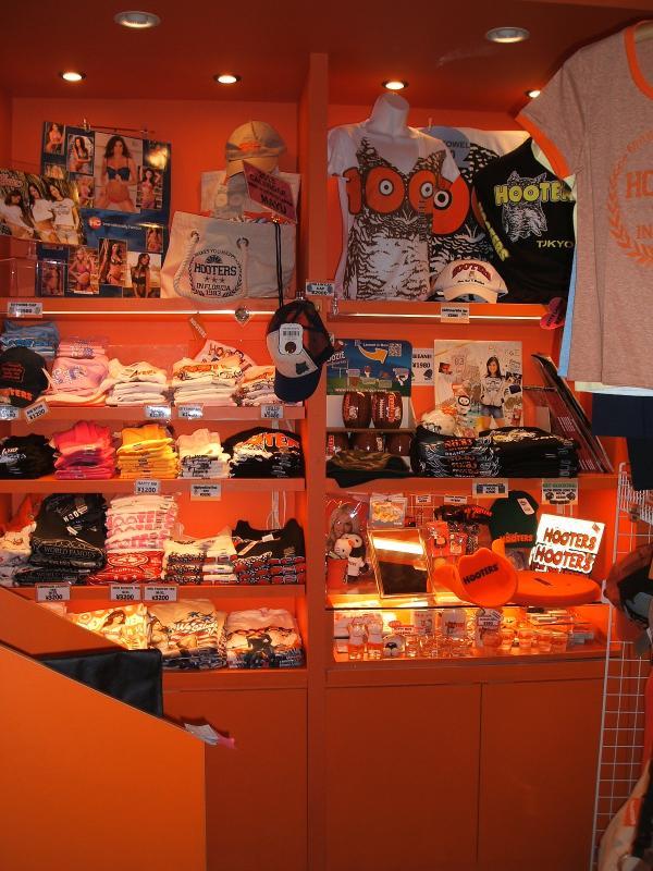 Hooters japan original goods