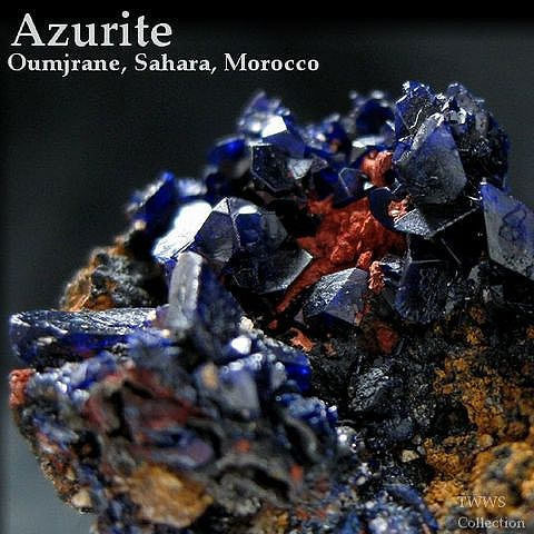 藍銅鉱_モロッコ3