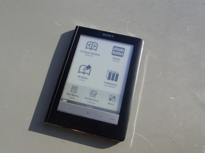 Sony Reader Touch Edition (PRS-600) を紛失!!