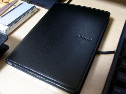 Sony Readerのブックカバー