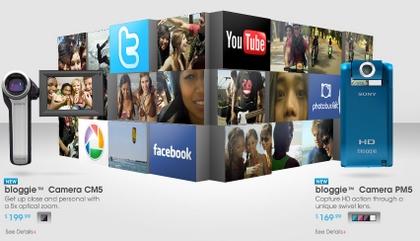 米ソニーからWebbie HDの後継機種bloggie(ブロギー)発表