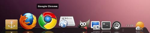 Docky Ubuntu ランチャー