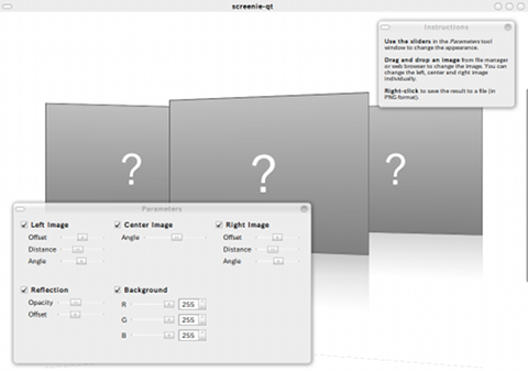 Screenie Ubuntu 画像編集ソフト 画像ファイルの追加