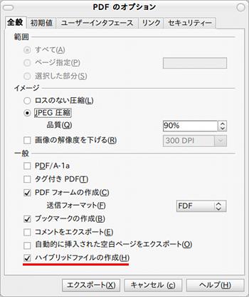 Sun PDF Import Extension OpenOffice拡張機能 PDF編集 ハイブリッドファイル
