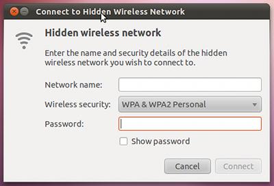 Ubuntu 10.10 インストール 無線LAN 接続