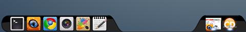 Cairo-Dock Ubuntu ランチャー パネル
